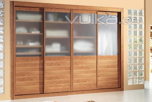 Foto frente de armarios con perfileria de aluminio for Frentes de armarios de cocina