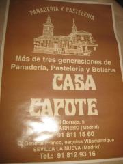 PANADERÍA-PASTELERÍA CASA CAPOTE