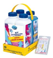 Kit completo de productos para piscinas