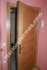 Puertas de entrada al mejor precio blindadas acorazadas etc. lacadas barnizadas cualquier acabado y color