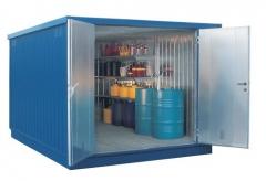 Contenedor prefabricado para almacenamiento