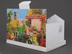 Postal jard�n modelo alloment de postcarden