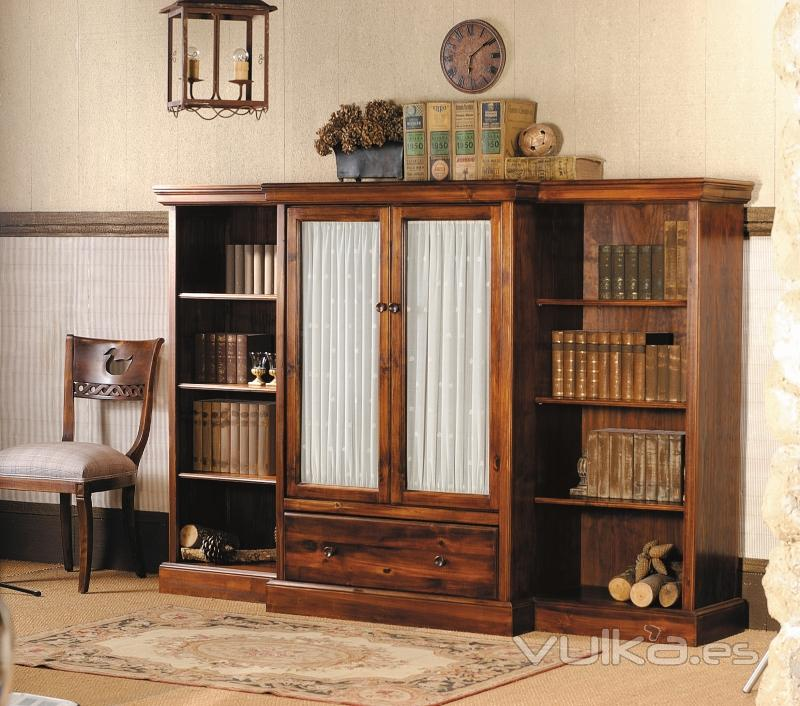 Pin atooms fotos cama king size on pinterest - Libreros de madera modernos ...
