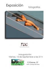 Cartel exposici�n fotogr�fica � roc