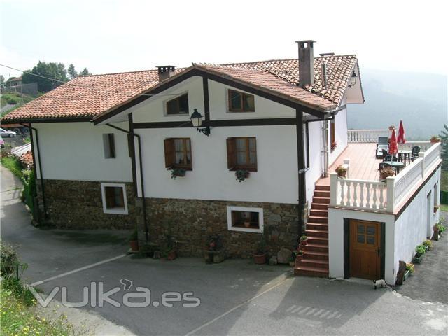 Foto fachada con terraza - Fachadas para terrazas ...