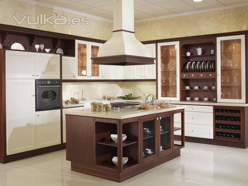 Foto muebles de cocina yelarsan modelo victoria for Ver modelos de muebles de cocina