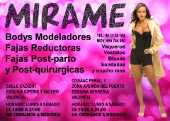 MIRAME - TIENDA DE BODYS Y FAJAS REDUCTORAS - MODA COLOMBIANA