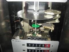 Disco de induccion magnetica y mecanismo de un contador landis del a�o 1987.