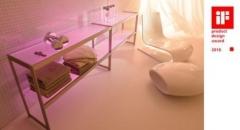 Estanter�a luz: aparadores iluminados s6, aluminio en acabado acero inox., estantes de cristal iluminados de led.