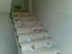Colocacion de escaleras