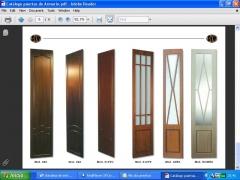 Fabricación de puertas de armario en mdf. a medida