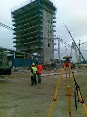Observaciones gps en obra nueva sede caja badajoz