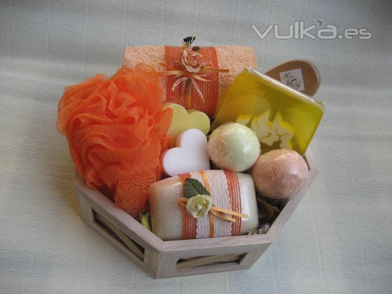 Foto preparamos cestas de ba o para regalo seg n el - Cestas para bano ...