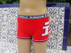 Art. 7439 boxer niño s/c mod. hollywood. color: rojo tallas: m - g, tambien disponible en slip art. 7339