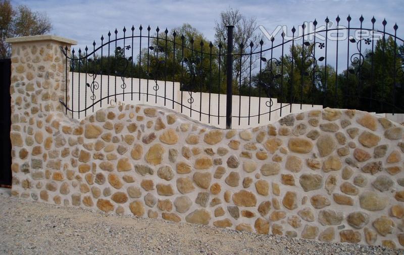 Canteras leonesas san miguel del camino le n - Piedra para muro exterior ...