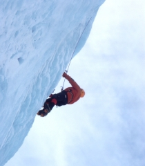 Escalada en hielo pirineos