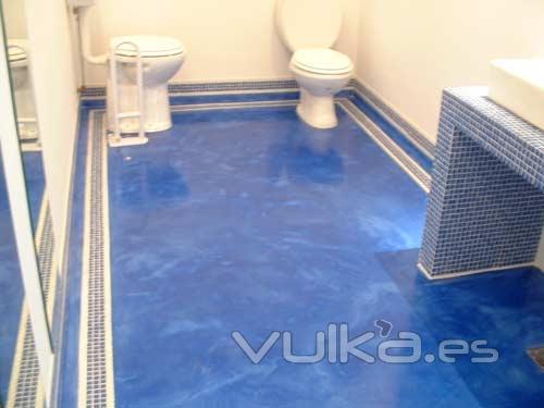 Foto microraos microcemento microbeton cantabria - Como hacer un piso de hormigon lustrado ...