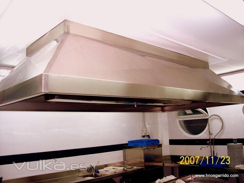 Hosteler a y refrigeraci n garrido sl - Campanas industriales de cocina ...