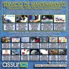 Assur Piscinas - Servicios de Mantenimiento Profesional de Piscinas Unifamiliares