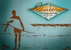 Imagen gr�fica para bombora surf caf� burriana � efecto antiguo surf style