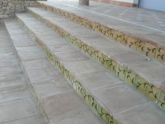 Frontal de escalera esmaltado personalizado