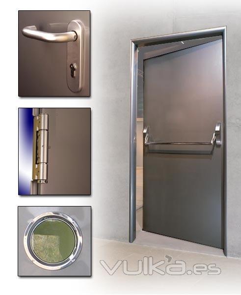 Foto puertas cortafuegos - Puerta cortafuegos precio ...