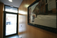 Entrada alojamiento ribera de navarra apartamentos bardenas alquiler bardenas