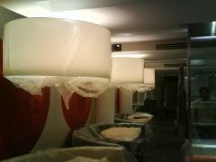 Confección de techo en pladur y montaje de lamparas.