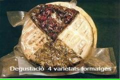 Nuestro Buque Insignia , 4 Variedades de quesos , para Degustaciòn,Fort Curat , Romany ,Pebre , Llet crua.