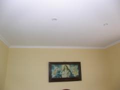 Colocación cielorraso pladur dormitorio casa de campo