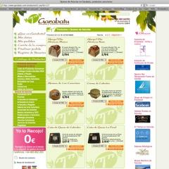 Web + tienda online de productos asturianos para garabatu