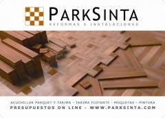 ParkSInta, Acuchillar Parquet y Tarima Flotante