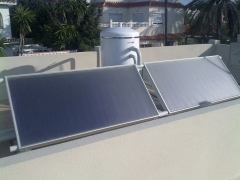 Equipo de energia solar mismo nivel termosifonico, minimo mantenimiento. subvencionado por la junta de andalucia