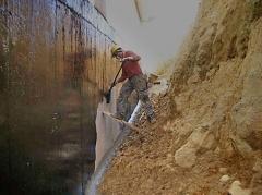Impermeabilizaci�n de muros, sotanos, bajos y submuraciones