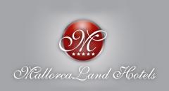 Creacion del logotipo de mallorcaland hotels, grupo hotelero enfocado a agroturismo.
