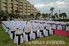 Sillas para ceremonia de boda