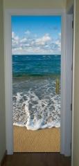 Im�n para puertas met�licas o no met�licas. dise�o de playa.