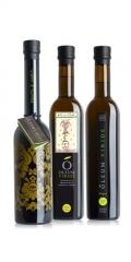 Modelos de botellas de aceite virge extra oleum viride