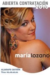 MARIA LOZANO, Ganadora 2ª Edicion de SE LLAMA COPLA