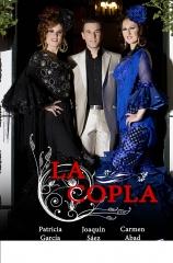 LA COPLA espectáculo compuesto por Joaqui Saez, Carmen Abad y Patricia Garcia