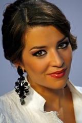 Eirka Leyva, cantante, concrusante de Se LLama copla de Canal sur tv