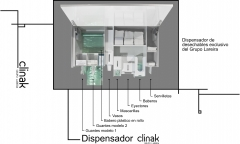 dispensador clinak