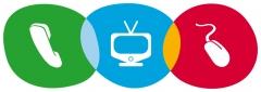 Telefon�a , Televisi�n e internet banda ancha