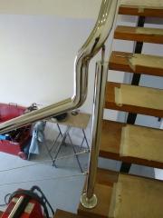 3 curvan en una para seguir linea escalera