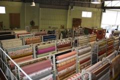Mas de mil piezas de tela en existencia a partir de 2�50eur mtr.