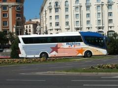 Irizar PB en Plaza Neptuno Madrid.