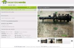 Amortiguador ford focus 1.6 16v