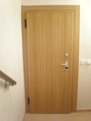 Puerta acorazada gardesa int.liso roble sotano