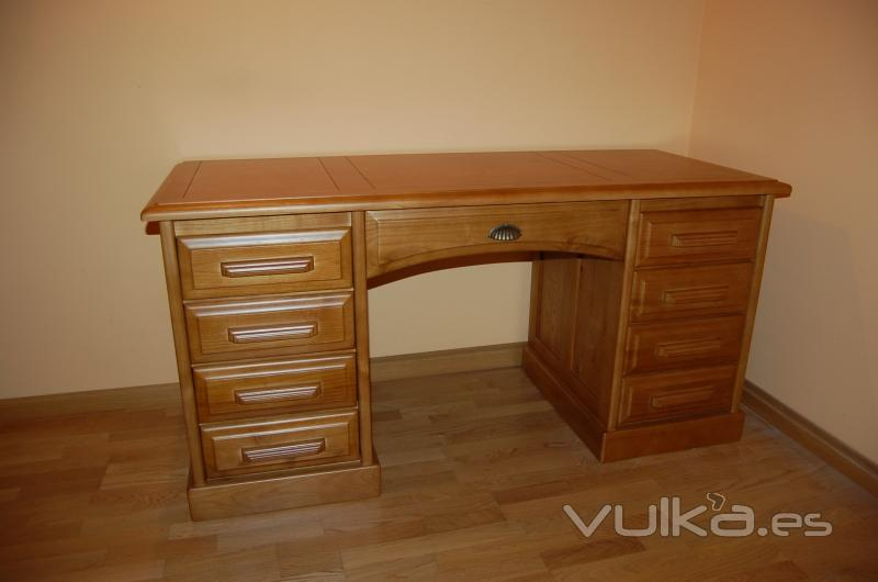 Modelos de escritorios de madera imagui - Mesa escritorio madera ...