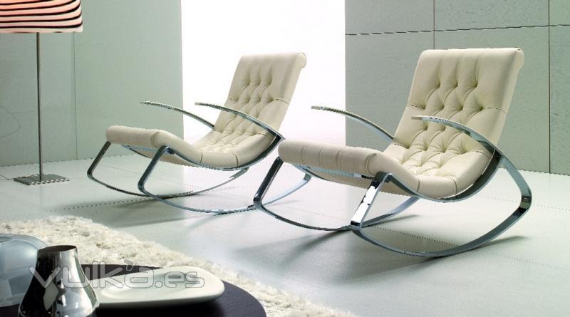 Foto sillones acero inox con tapizado capitone hecho a medida - Dormitorios juveniles hechos a medida ...